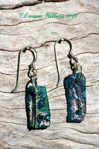 02 Roman Glass Earrings