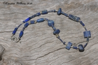 Abstract Lapis Necklace