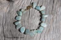 Amazonite Nugget Bracelet