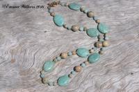 Amazonite Impression Necklace