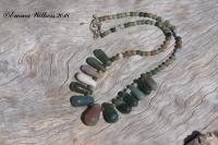Fancy Agate Necklace