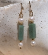 African Jade Earrings
