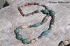 Agate & Ceramic Bead Necklace