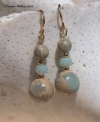 Amazonite Impression Earrings