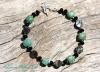 Amazonite & Paua Shell Bracelet