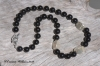 Black Onyx Hilltribe Silver Necklace