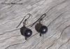 Midnight Pearl Earrings