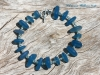 Delicate Blue Glass Bracelet