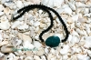 Chrysocolla and Onyx Necklace