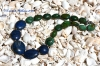 Chunky Lapis and Turquoise Necklace