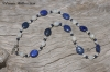 Lapis Moonstone Necklace