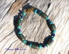 Lapis Lazuli & Turquoise Feature Bead Bracelet