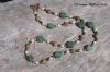 Malachite Sand Necklace