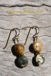 Multi Ocean Jasper Earrings