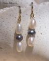 Nautical Pearl Earrings
