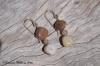 Ocean Jasper Earrings - Rust