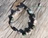 Ocean Jasper and Pearl Bracelet