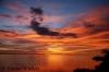 Crescent Moon Sunset