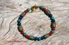 Turquoise Feature Bead Bracelet