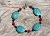 Turquoise Swirl Bracelet